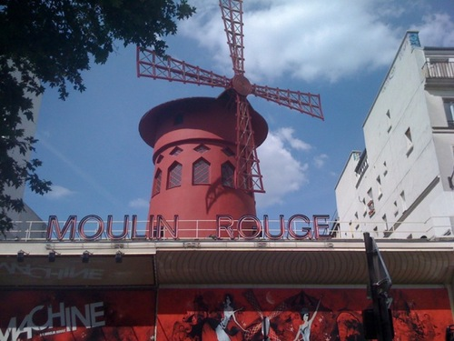 Shows at the Moulin Rouge are upwards of a hundred euros. For that price, I can fly to see red windmills in Holland.